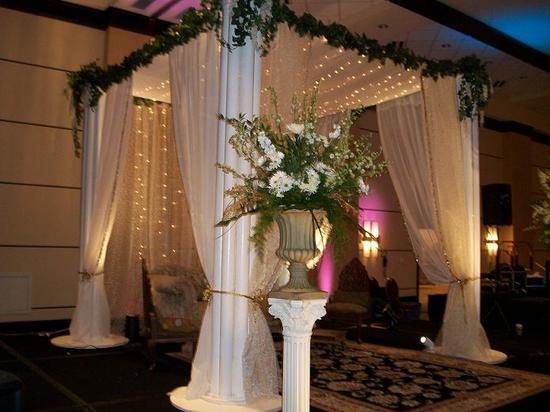 Wedding Stage and Canopy corner view 11-2010