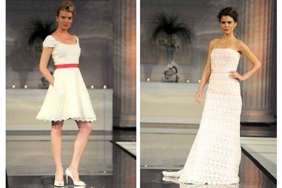 Wedding dresses for Kentucky Derby-themed weddings