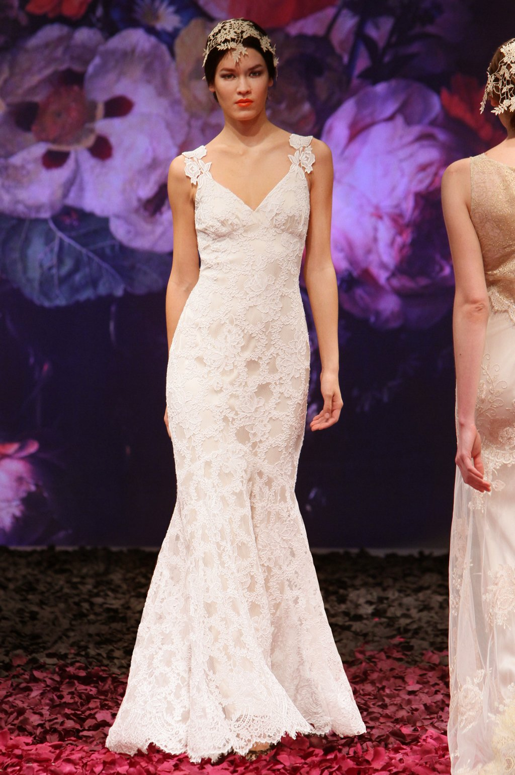 Belladonna Wedding Dress By Claire Pettibone 2017 Still Life Bridal Collection