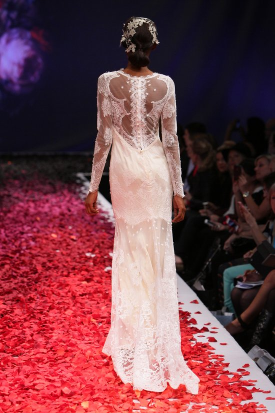 Adeline wedding dress by Claire Pettibone Still Life 2014 bridal collection