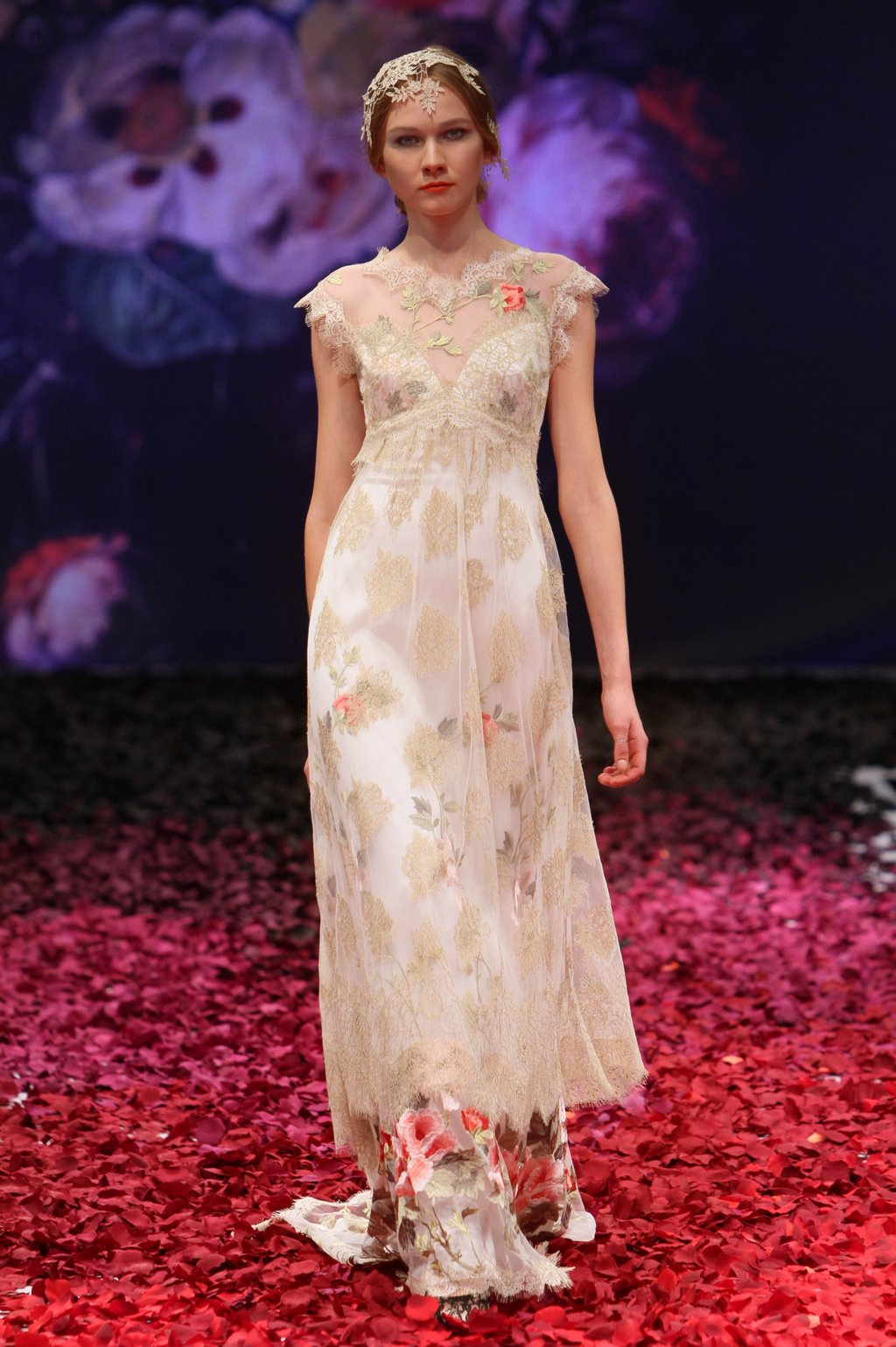 Hearts Desire wedding dress by Claire Pettibone 2014 Still Life bridal collection