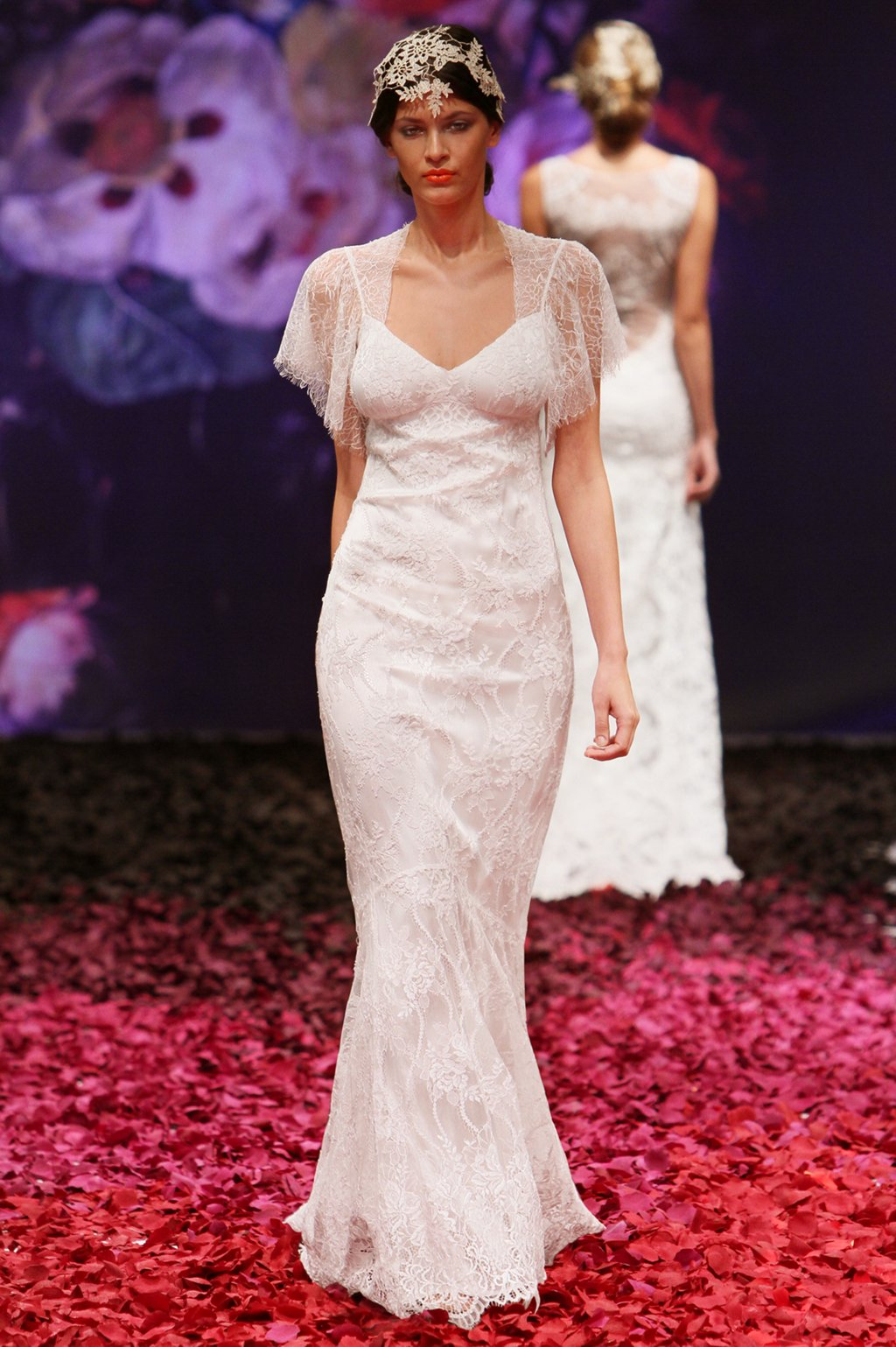 Juniper wedding dress by Claire Pettibone 2014 Still Life bridal collection