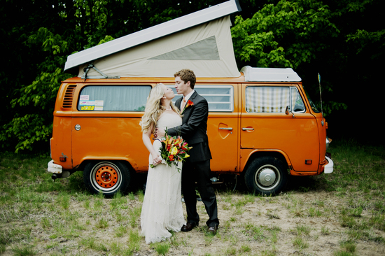 Rustic Offbeat Wedding