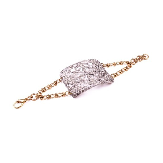Art deco vintage wedding bracelet