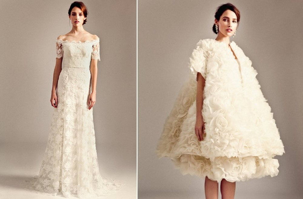 Temperley London wedding gowns Fall 2014 bridal collection 8