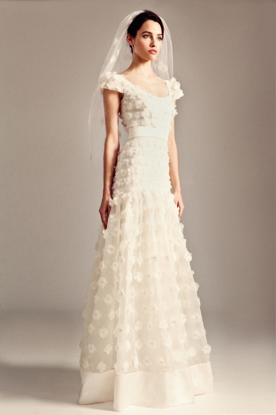 Gwyn wedding dress by ... Kim Kardashian Wedding Reception Hair
