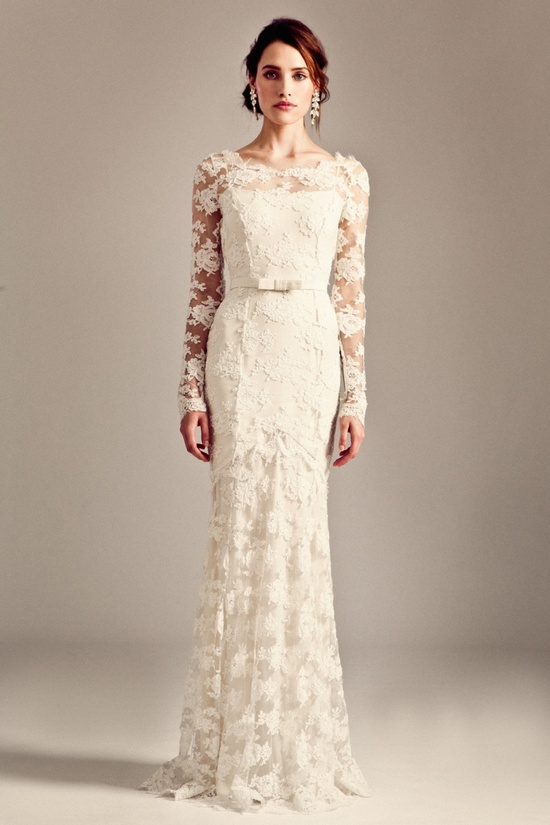 Florence wedding dress by Temperley London Fall 2014 bridal
