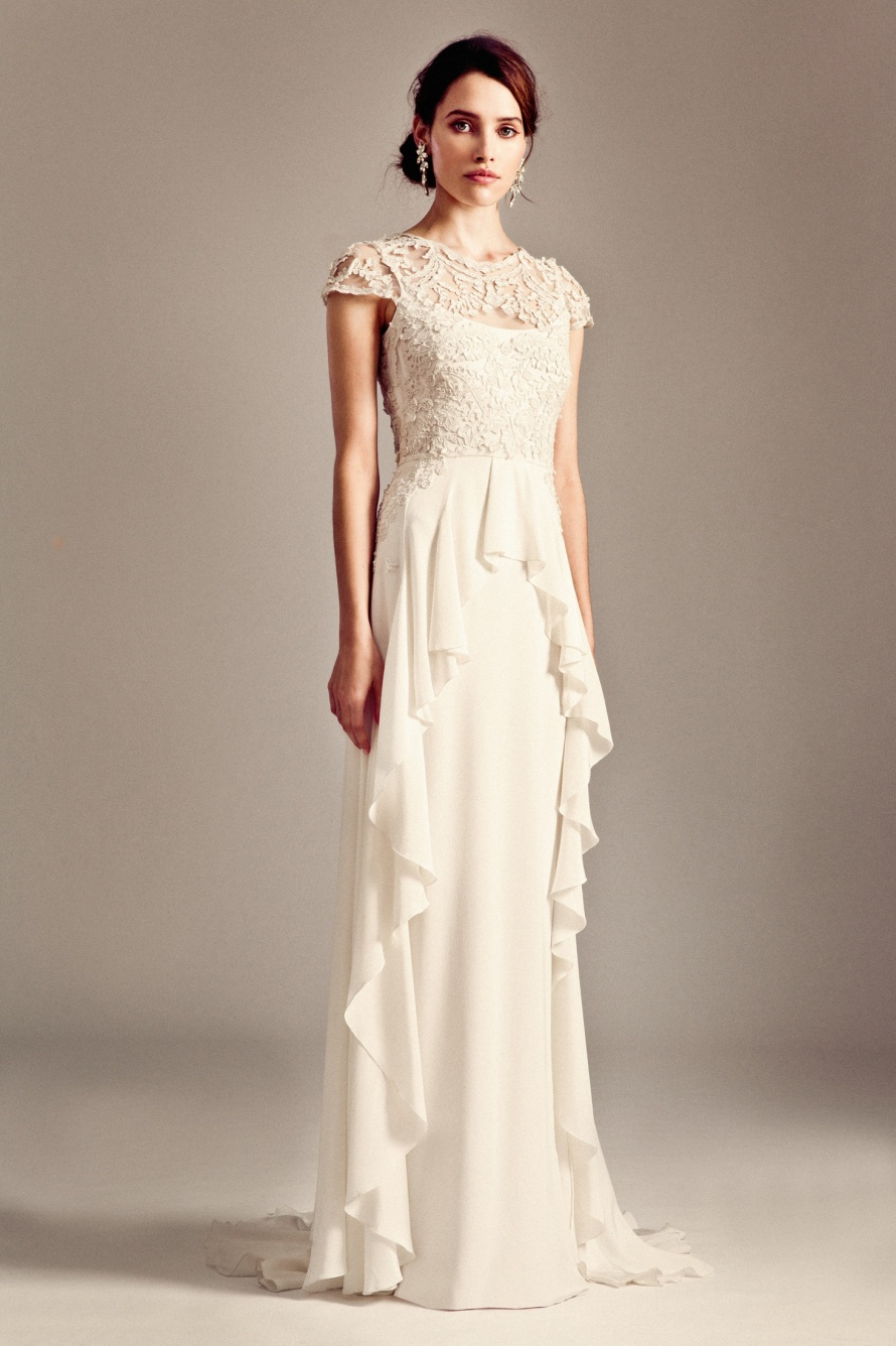 Bluebell Wedding Dress By Temperley London Fall 2014 Bridal OneWed