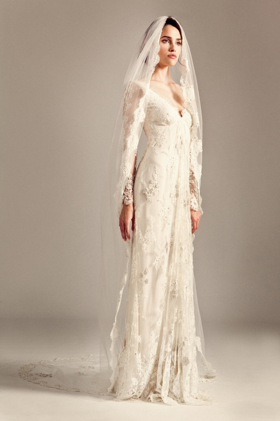 Jessamine wedding dress by Temperley London Fall 2014 bridal
