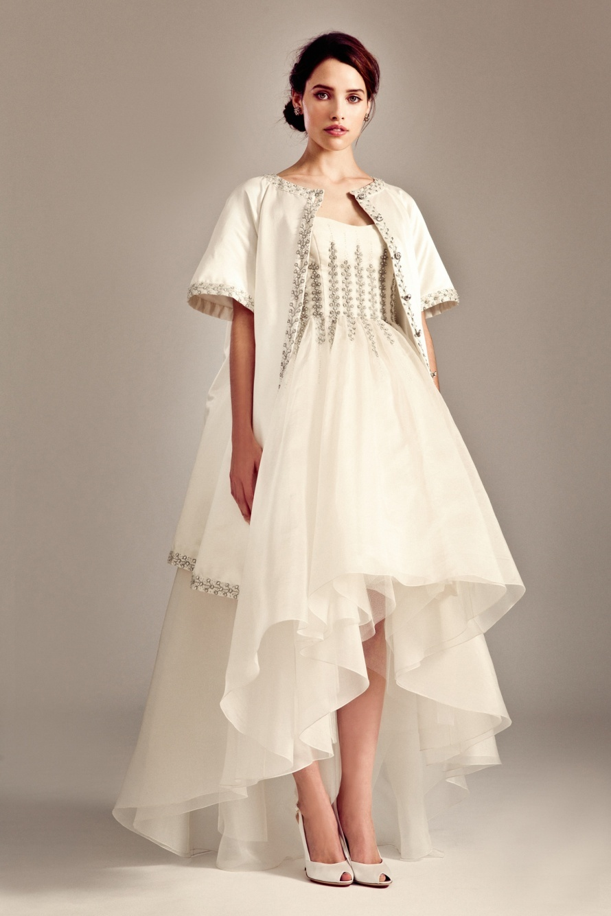 White Hot Trend Not Your Mother S Wedding Dress Onewed