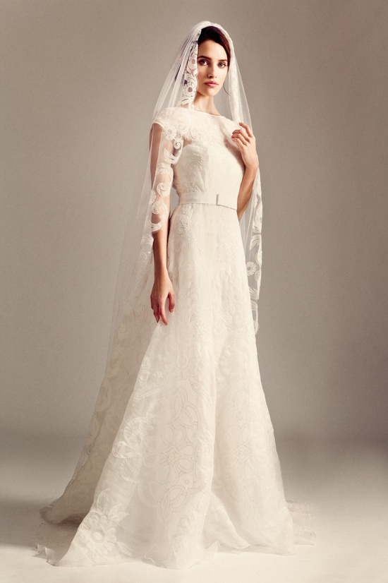 Classic A-Line Wedding Dress