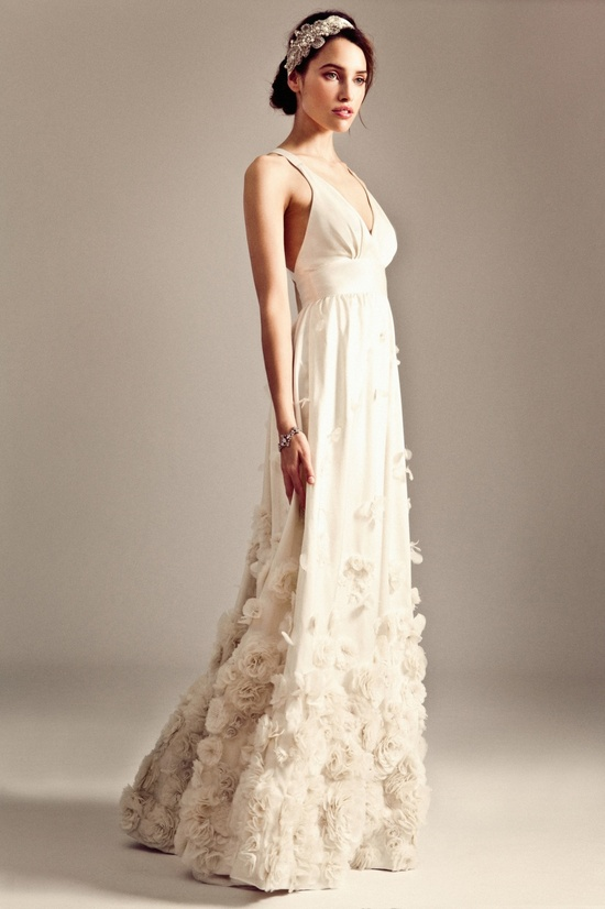 Fiona wedding dress by Temperley London Fall 2014 bridal