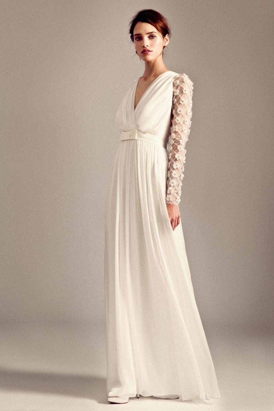 Leigh wedding dress by temperley london fall 2014 bridal for Alice temperley wedding dresses