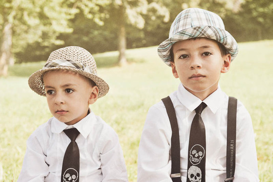 rockin ring bearers dressed to kill