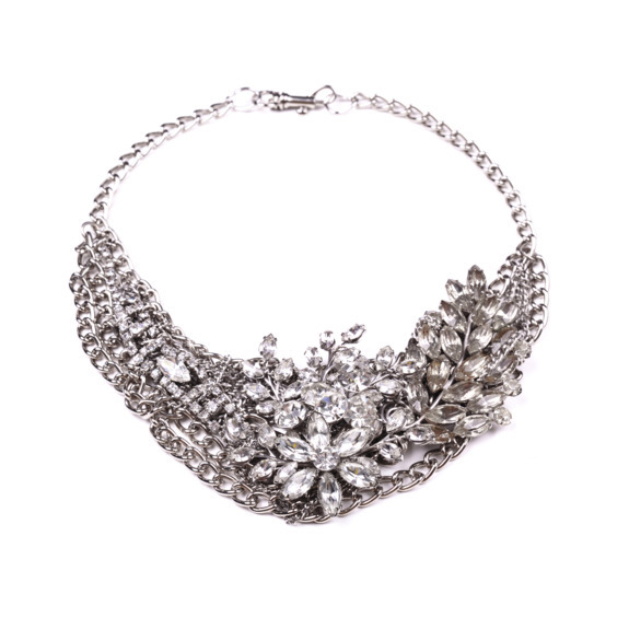 Vintage Bridal Necklace 29