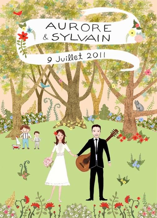 whimsical and budget-friendly wedding invitations, Wedding invitations