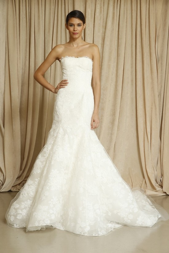 Oscar de la Renta wedding dress Fall 2014 6