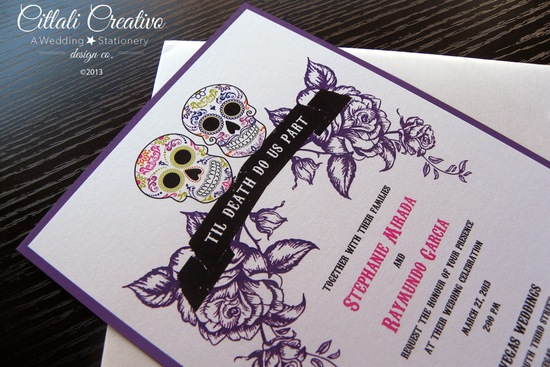 wedding invitations day of the dead - new wedding, Wedding invitations