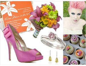photo of Summer Wedding Inspiration: Vibrant Sherbet
