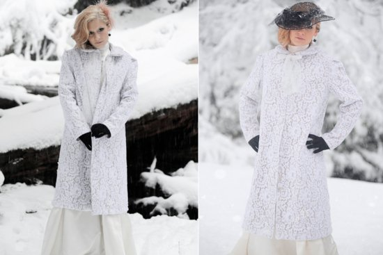 Beautiful bridal coats for Fall and Winter weddings 3