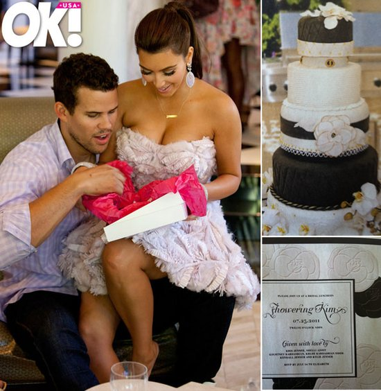 Inside look at Kim Kardashian's bridal shower