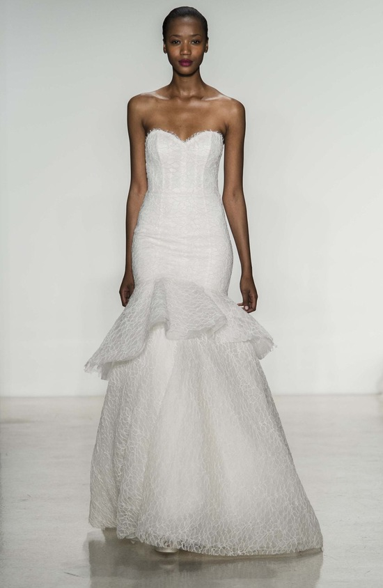 Devyn wedding dress by Amsale Fall 2014 bridal