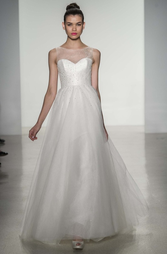 Erie wedding dress by Amsale Fall 2014 bridal