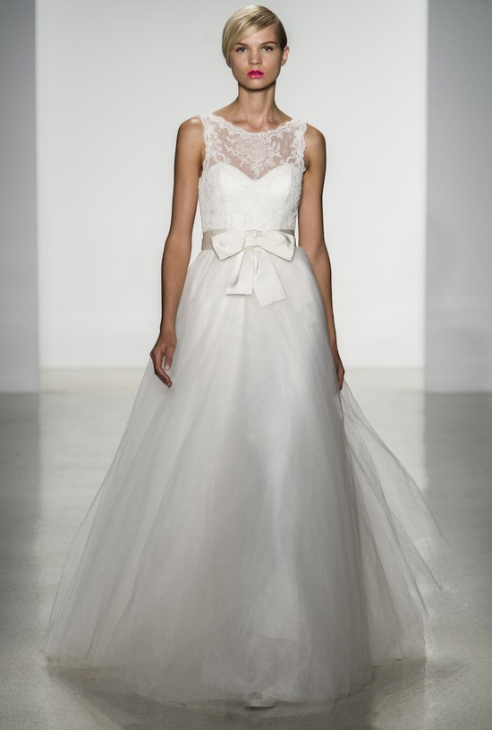 Quinn wedding dress by Amsale Fall 2014 bridal