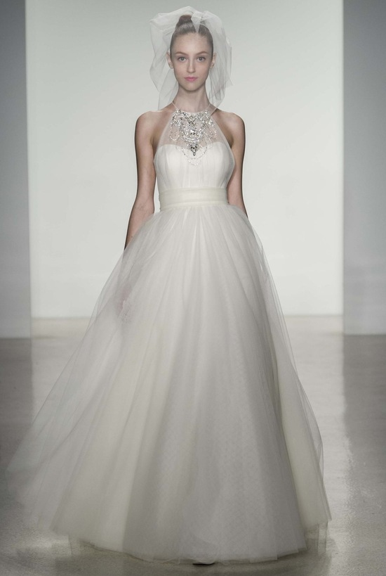 Whitney wedding dress by Amsale Fall 2014 bridal