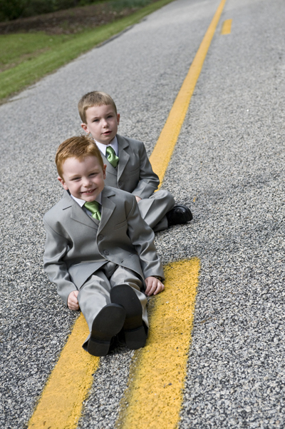 Ring Bearer's Tuxedos and Suits