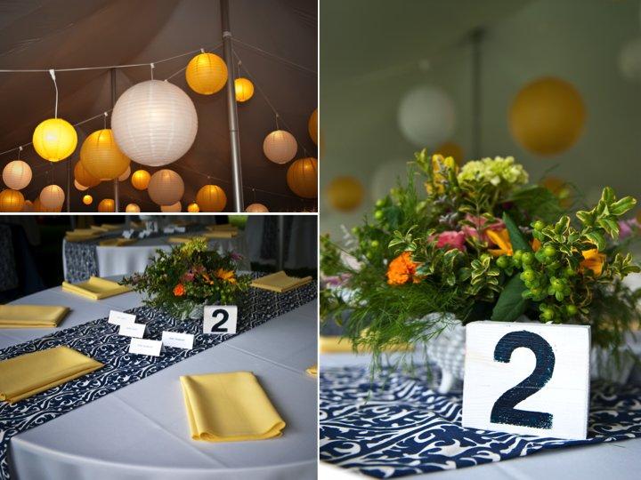 Outdoor-wedding-reception-tent-navy-yellow-wedding-colors.full