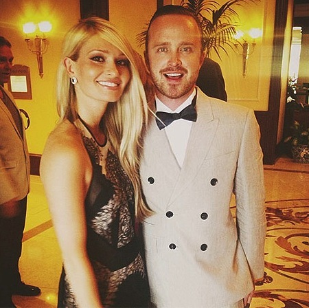 rehearsal dinner of Aaron Paul of Breaking Bad
