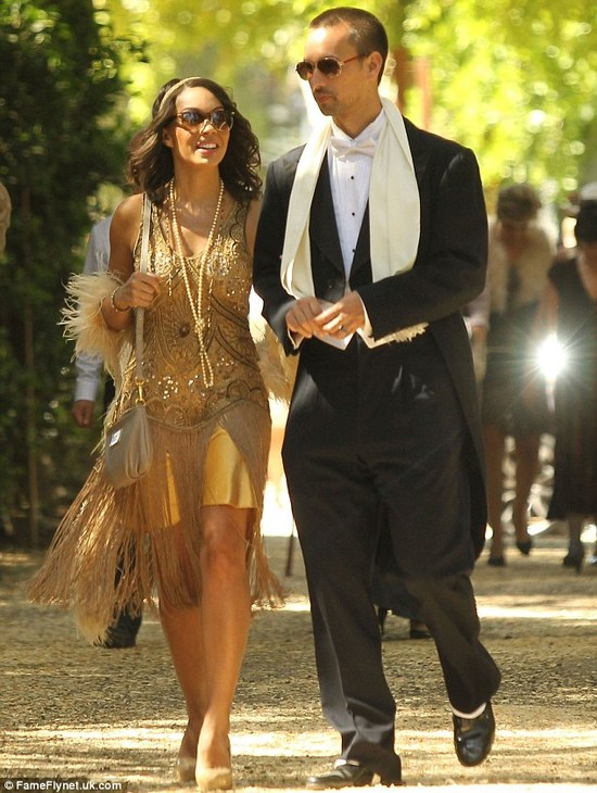 photo of Gatsby dressed guests at Breaking Bad star Aaron Pauls wedding 1