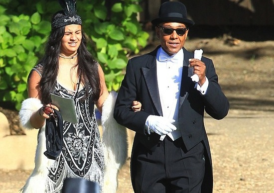 Gatsby dressed guests at Breaking Bad star Aaron Pauls wedding 2