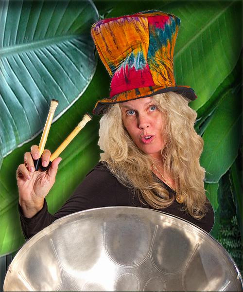 photo of Wendy Harrison, Steel Drum Soloist