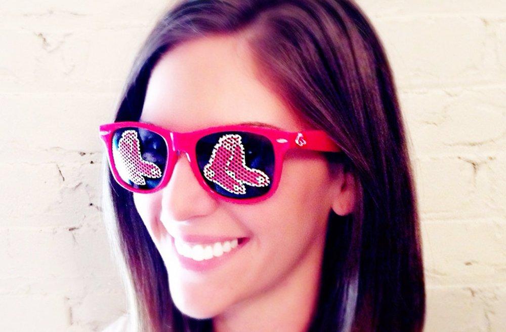 Funky Sunglasses For Baseball Themed Wedding Favors