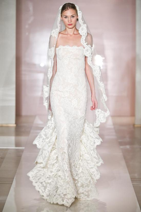 Sarah 2 wedding dress by Reem Acra Fall 2014 Bridal