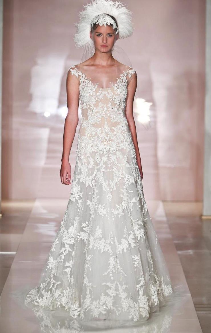Reem Acra Wedding Gown 015 - Reem Acra Wedding Gown