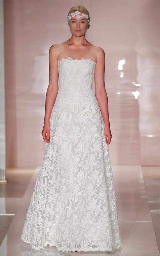 Emily wedding dress by Reem Acra Fall 2014 Bridal