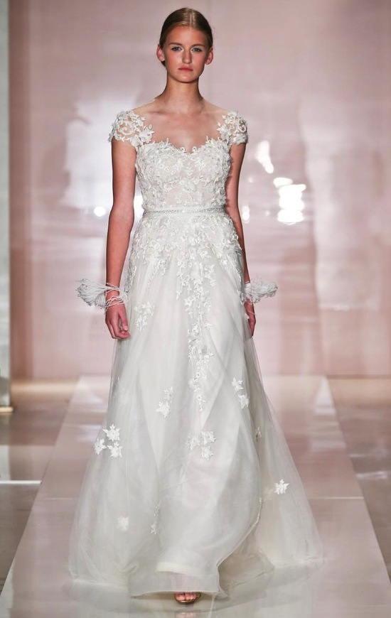 Lexi wedding dress by Reem Acra Fall 2014 Bridal