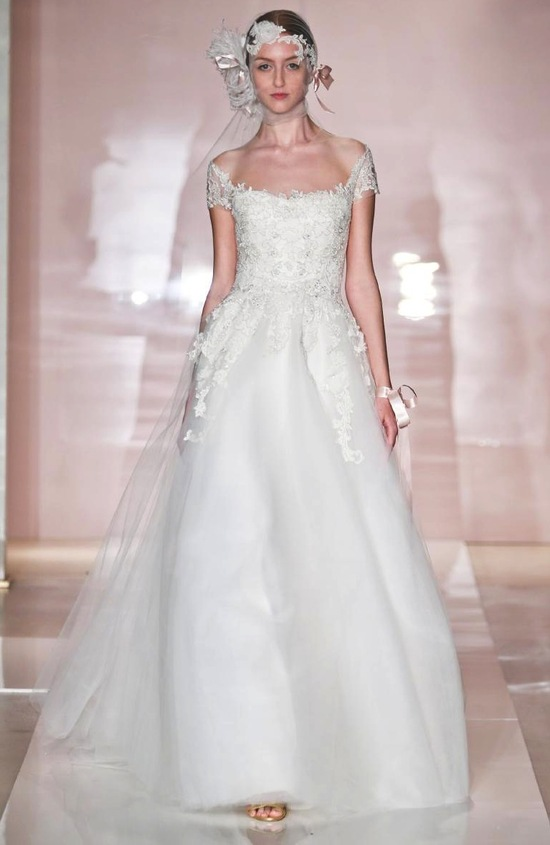 Sarah wedding dress by Reem Acra Fall 2014 Bridal