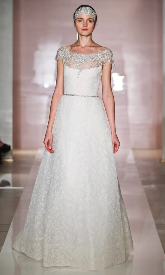 Frances 2 wedding dress by Reem Acra Fall 2014 Bridal