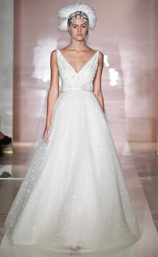 Angelika 2 wedding dress by Reem Acra Fall 2014 Bridal