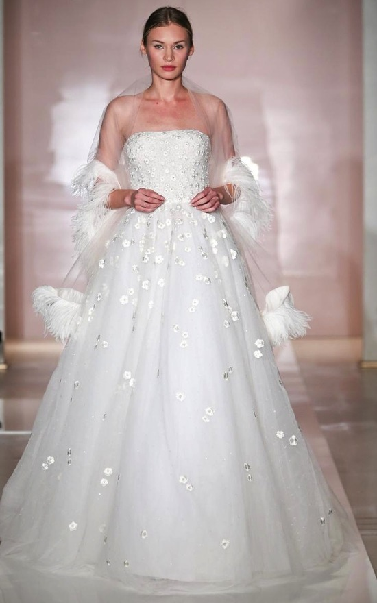Dana 2 wedding dress by Reem Acra Fall 2014 Bridal