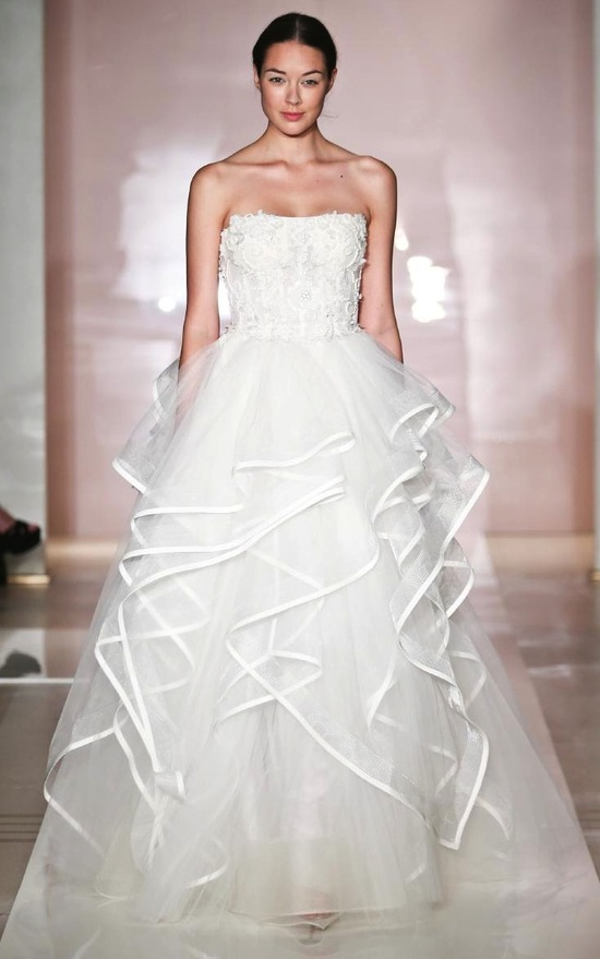 Kristina 2 wedding dress by Reem Acra Fall 2014 Bridal