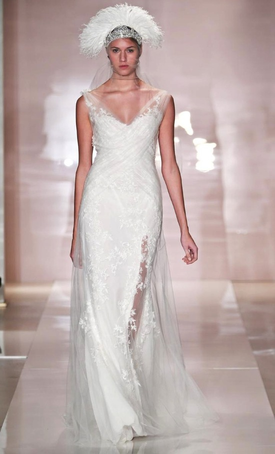 Alisa 2 wedding dress by Reem Acra Fall 2014 Bridal