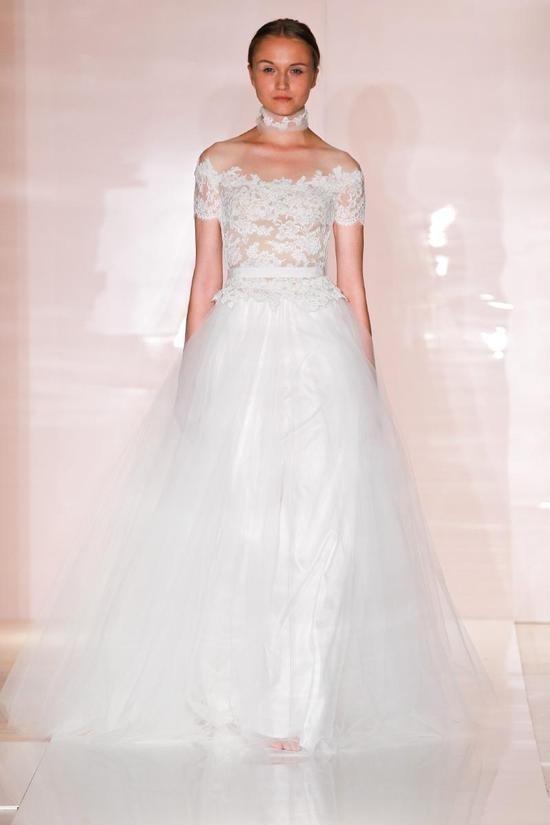 Daria wedding dress by Reem Acra Fall 2014 Bridal