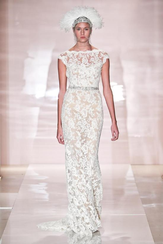 Erica wedding dress by Reem Acra Fall 2014 Bridal