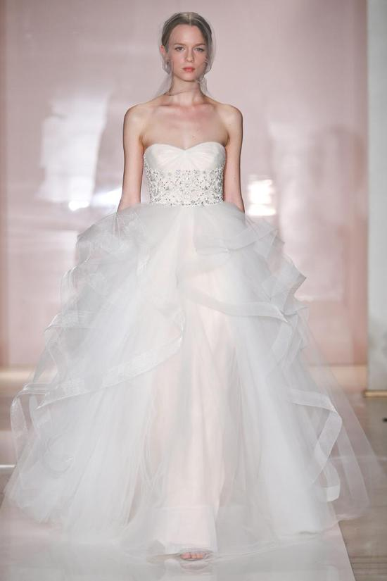 Alisha wedding dress by Reem Acra Fall 2014 Bridal