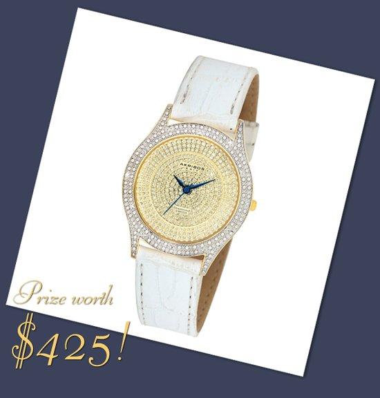 photo of Win a Diamond-Encrusted Wedding Watch!